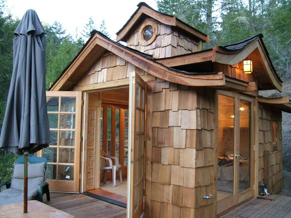 Tiny house in California