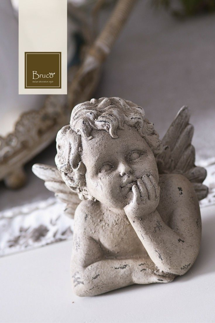Putto pensieroso #brucostyle #italianstyle #putto