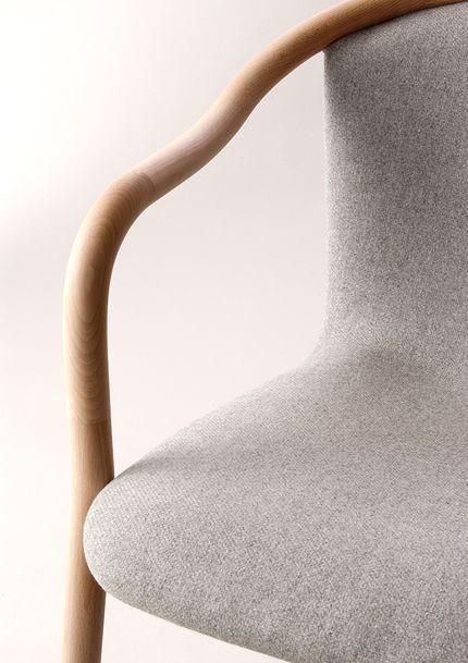 Naoto Fukasawa lounge chair #designdetails #furniture #softcolors