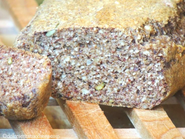 Pane Senza Farina di Frumento con Semi Vari