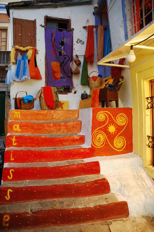 Colours of Symi Island, Greece