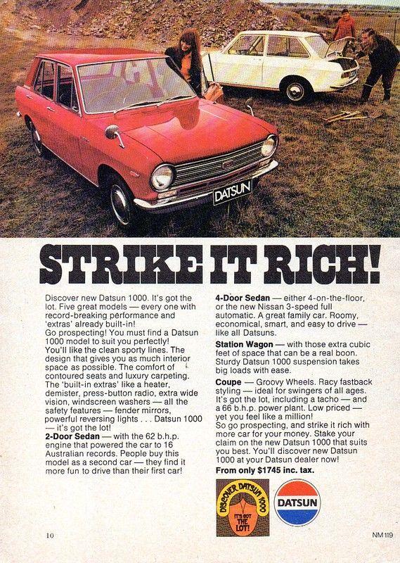 11++ Datsun 1000 2 door sedan ideas