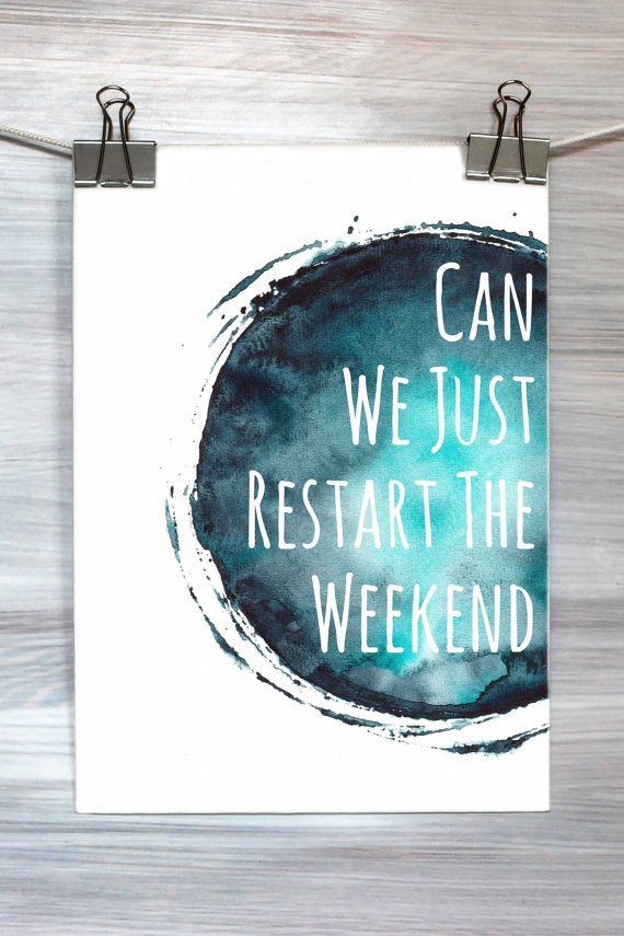We kunnen het Weekend Print aquarel grappig door HyperSplashPrints