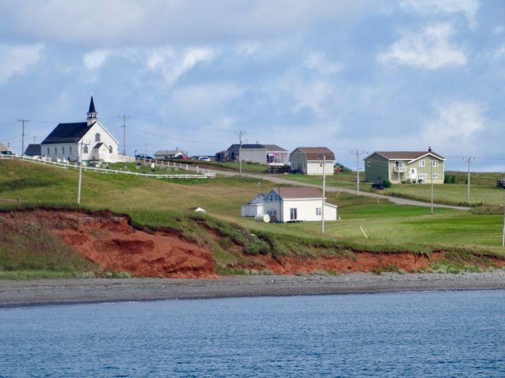 Houses on Entry Island