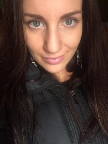 Tanning spray = no need for full face makeup! Just some mascara, brows, bonbons, touch of white liner.. And go!  Husband Approved- Both the Glow and Getting me out the door faster :P