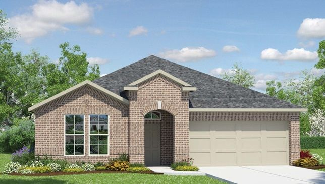 2141 Hamilton Floor Plan by DR Horton Homes in Clements Ranch