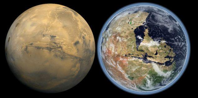 Conoce sobre Fue el Sol: el viento solar hizo desaparecer la atmósfera de Marte, y con ella sus océanos