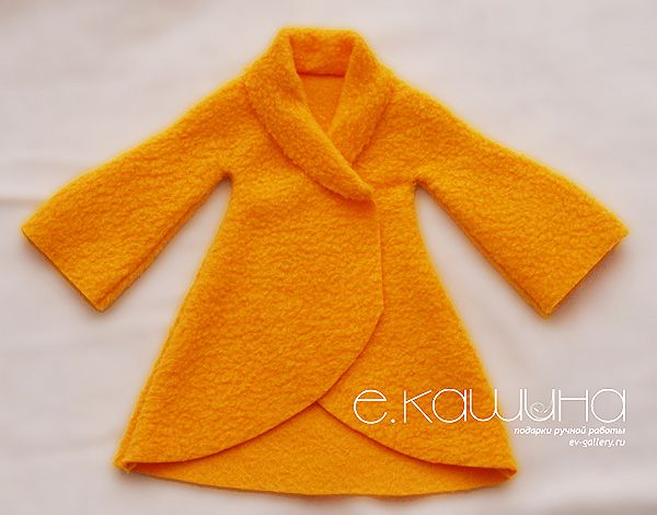 Mimin Dolls: tilda-yellow coat part 2