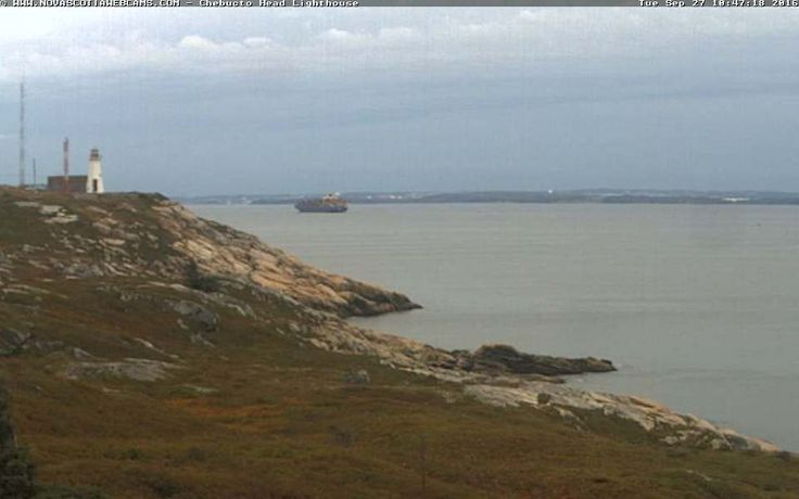 This camera is located about 7 nautical miles south of Point Pleasant Park close to Chebucto Head Lighthouse (44°30'7