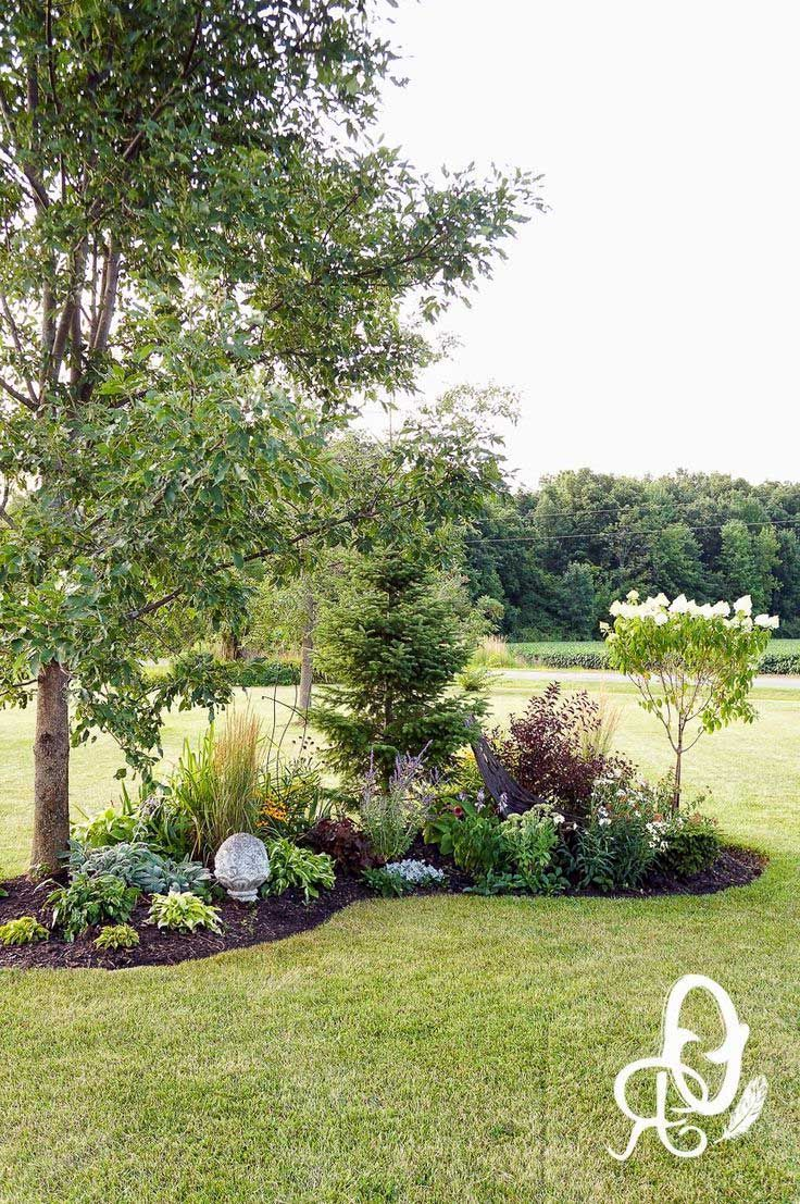 43 Magnificent Corner Backyard Landscaping Ideas Backyard Garden Layout Backyard Landscaping Garden Layout Backyard garden oasis ideas