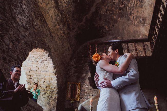 Gaaf! Laat je inspireren door deze kleurrijke Mexicaanse bruiloft Image: 11