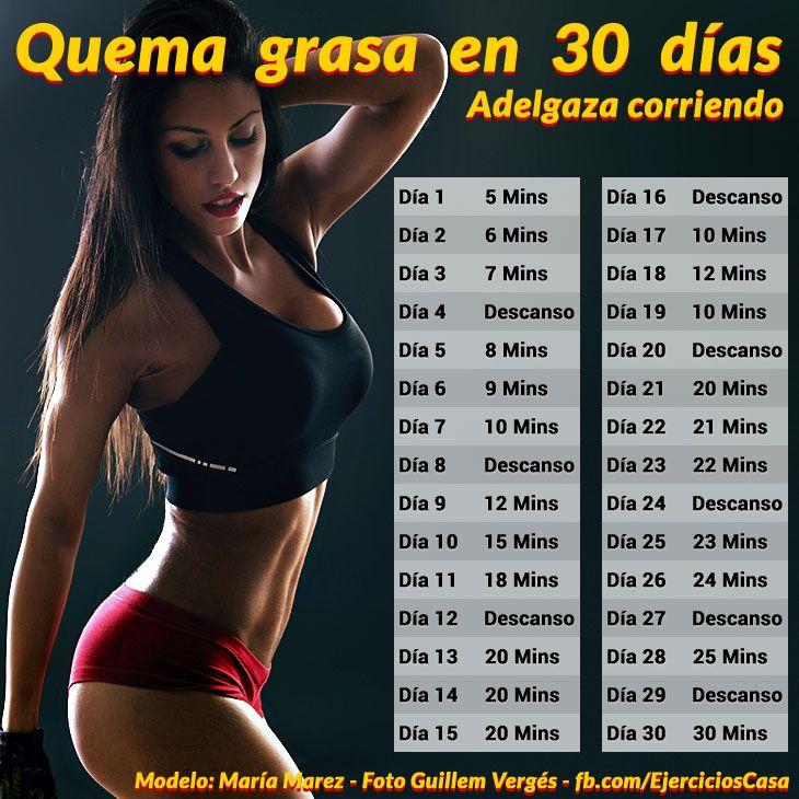 Reto adelgazar en 30 dias corriendo