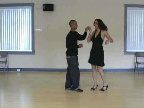 Salsa Basics.  Learn How to Dance Salsa Part 1 with Clara - YouTube