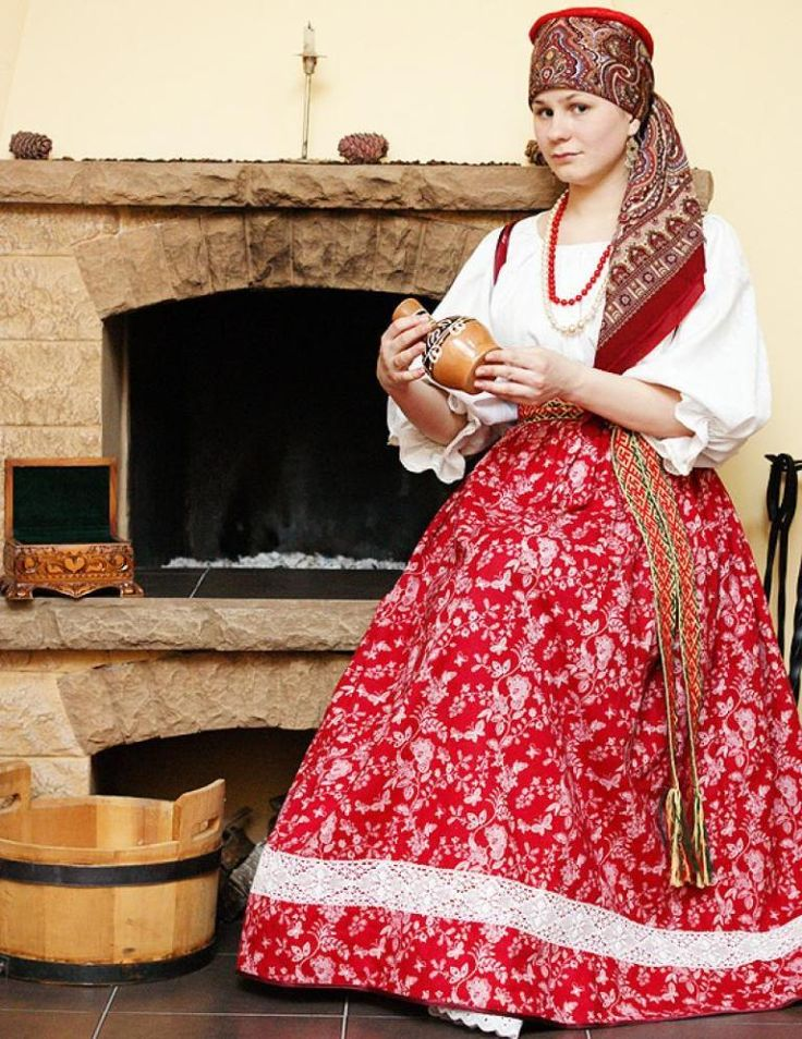 РУССКИЙ НАРОДНЫЙ КОСТЮМ.: Traditional Costume, Russkiy Apparel, Things Russian, Russia Traditional, Russian National, Folk Costumes, Russian Style, Rus Slavic Fashion