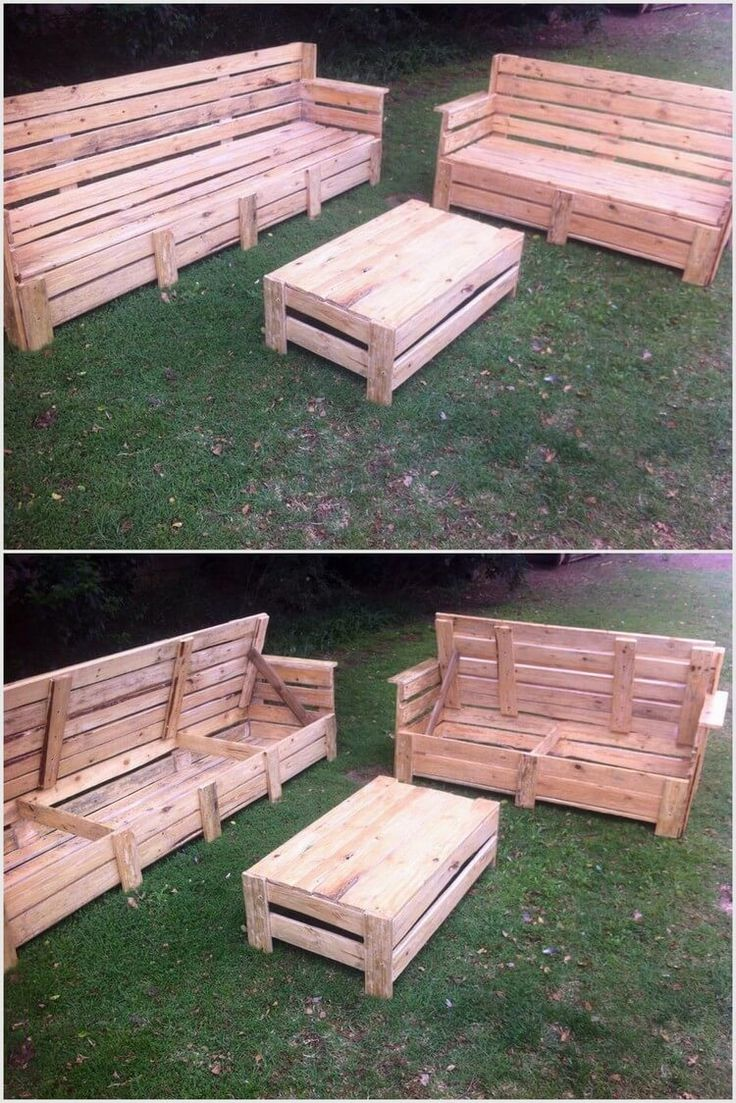 crate outdoor furniture. pallet garden furniture with storage crate outdoor