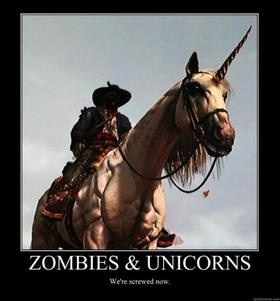 Zombies and Unicorns. We're screwed now. Red Dead Redemption Undead
