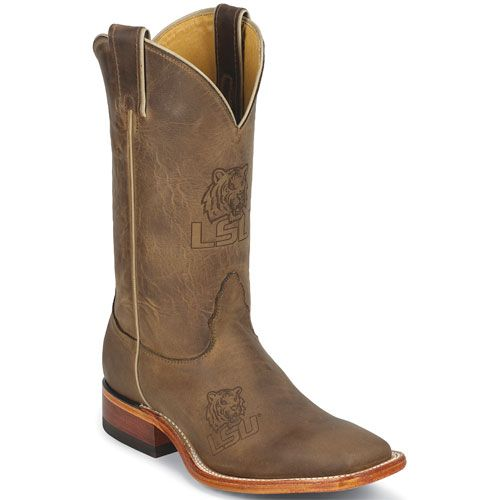 MDLSU12 Nocona Men's LSU College Boots - Brown
