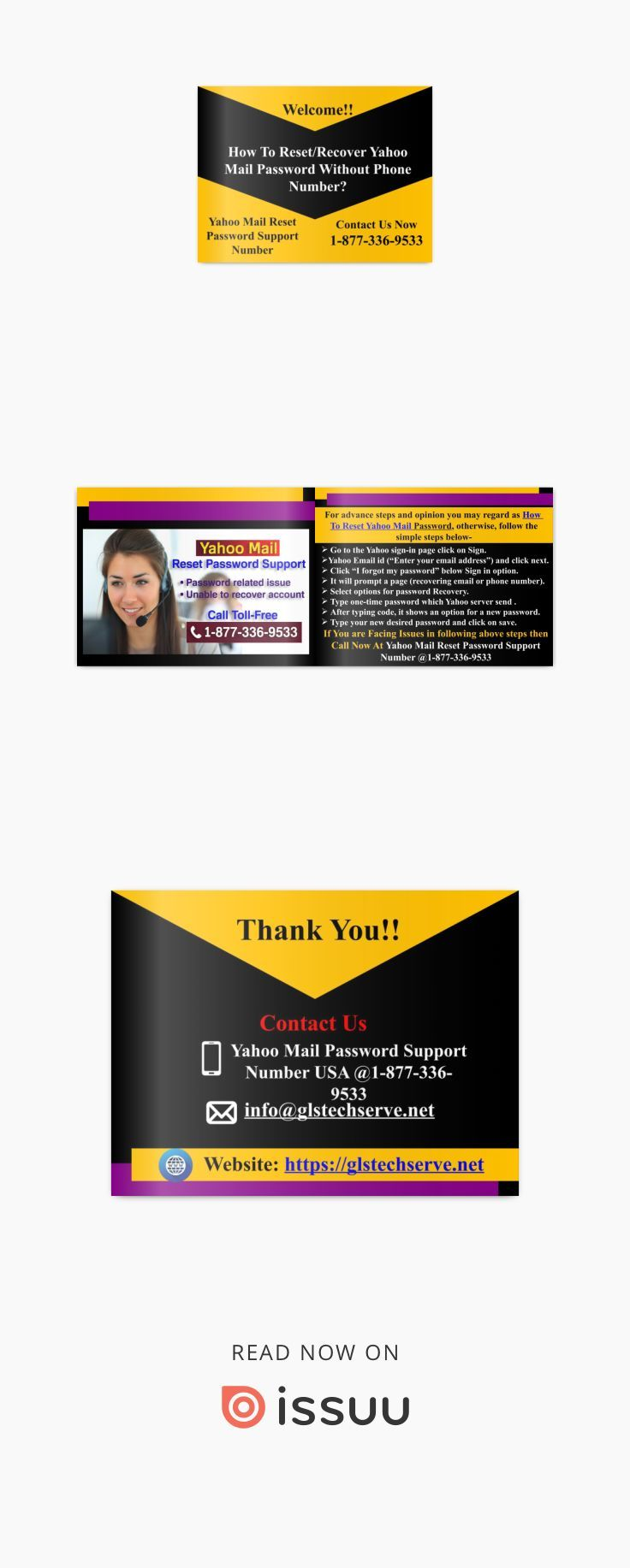 How To Reset Yahoo Mail Password without Phone Number