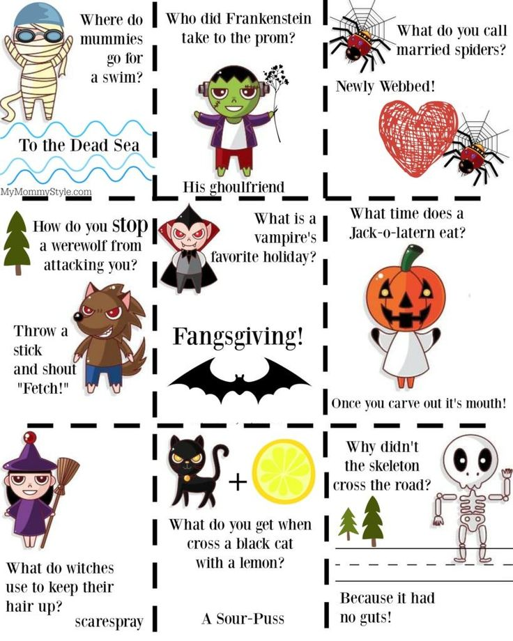 Funny Halloween Jokes For Kids and Adults Halloween