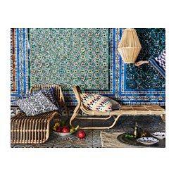 IKEA - JASSA, Tumbona, Cada pieza es única, porque ha sido trenzada a mano por un artesano cualificado.Sillón reclinable de ratán. Crea un estilo rústico y natural en tu hogar.Puedes utilizar los muebles en el interior o el exterior.El barniz transparente crea variaciones naturales de color y protege al mueble del uso.