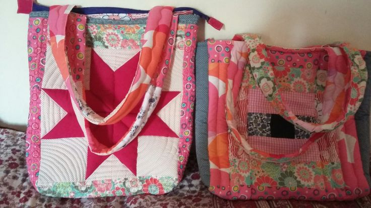 Patchwork quilted  bag