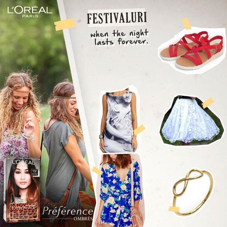 Alege destinația de vacanță și nuanța Préférence Ombrés, compune-ți ținuta de vacanță și poți câștiga zilnic nuanța aleasă de Préférence Ombrés sau marele premiu ținuta creată de tine!