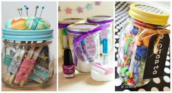 17 tolle Geschenke im Glas   – Soin et Beauté