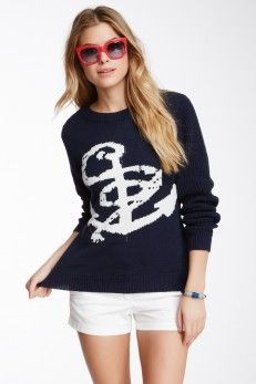 Romeo & Juliet Couture Romeo & Juliet Couture Anchor Sweater