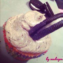speculoos & oreo cupcake