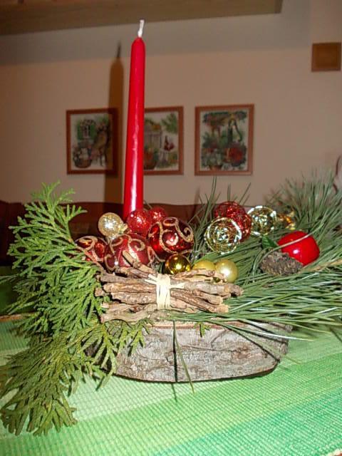 Vianočná ikebana