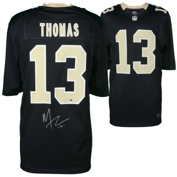 Michael Thomas New Orleans Saints Fanatics Authentic Autographed Black Nike Game Jersey - $249.99