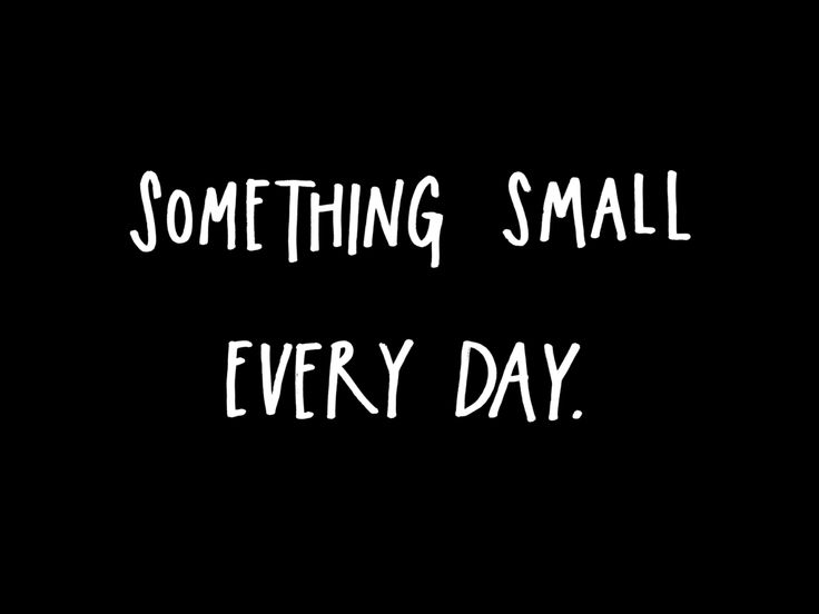 Austin Kleon talks about doing one small thing every day because, like Phil Connors in Groundhog day, we don't know what tomorrow will be like. This is how I want to live my life with chronic illness - follow what has meaning a little bit every day because we never know if we will succeed or fail, and it doesn't actually matter. TTS blog.