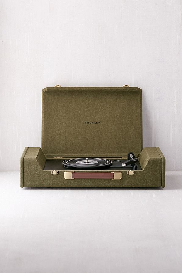 Slide View: 1: Crosley Nomad Portable Record Player