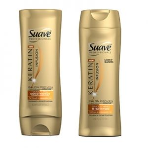Products To Make Curly Hair Straight 1 Suave Professionals Keratin Infusion Smoothing Shampoo Left