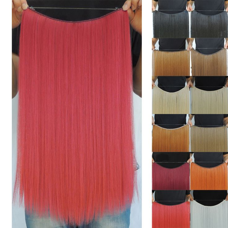50g 50cm hair style extension halo lady straight mega hot beauty cosplay sexy formula extensions ali moda fast blonde red black