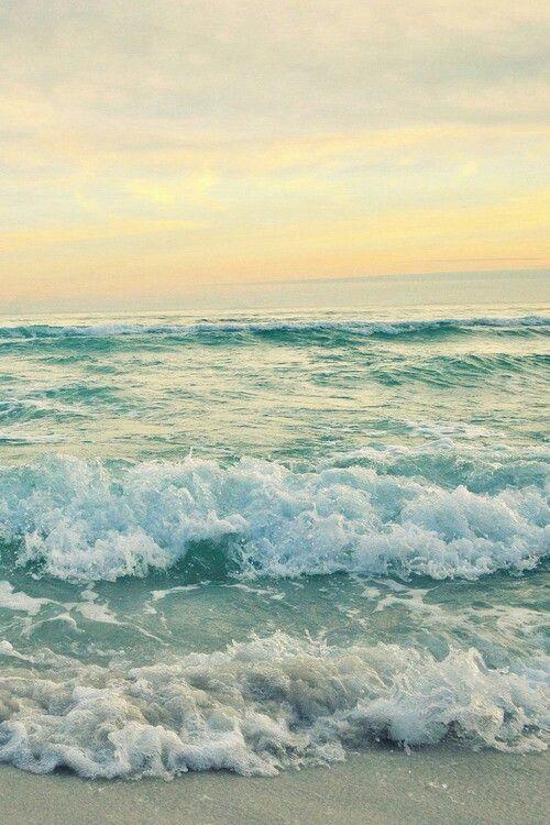 beach, ocean, photography, sunset, tumblr, waves