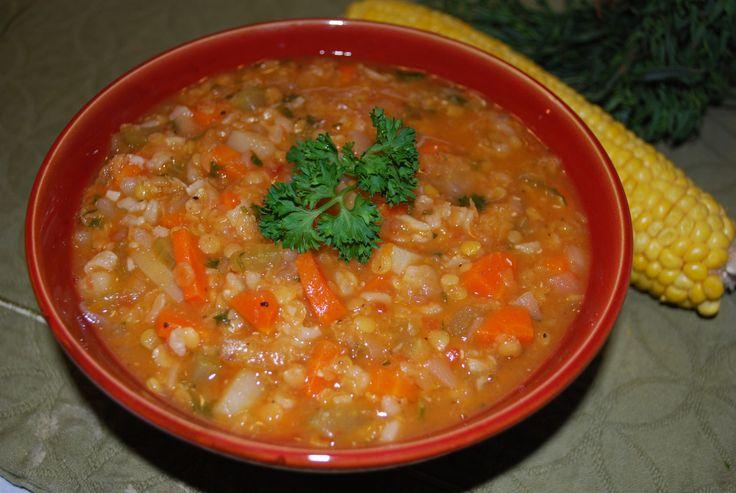 BEST Lentil & Tomato Soup