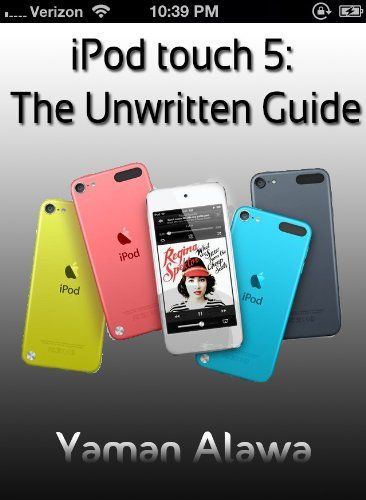 IPod touch 5 Guide: The Unwritten iPod touch 5G Manual. Our guide is highly recommended for new iPod touch users, or just previous iPod touch users who want to get more out of their iPod touch 5. This sleek, highly refined pocket computer comes with everything—iPod, Internet, camcorder—except a printed manual. With the new iPod touch 5, Apple has another world-class hit on its hands. Author: Dylan Merci. Length: 25 pages. We've compiled all the information you will need to get...