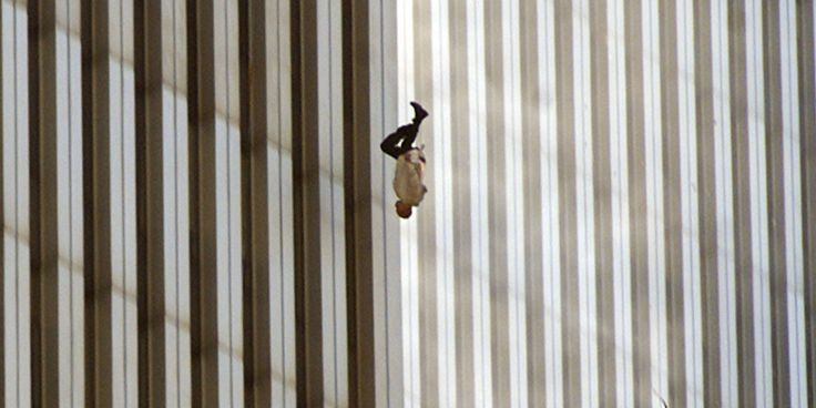 Do you remember this photograph? In the United States, people have taken pains to banish it from the record of September 11, 2001. The story behind it, though, and the search for the man pictured in it, are our most intimate connection to the horror of that day.