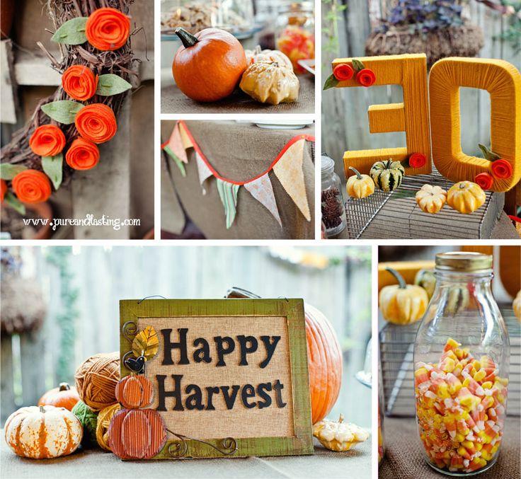 Best 20+ Fall Birthday Decorations Ideas On Pinterest