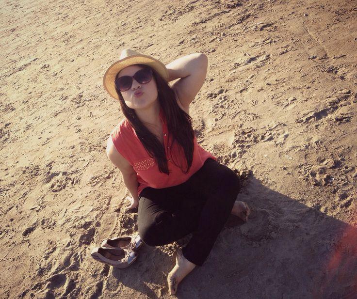 I love the beach!