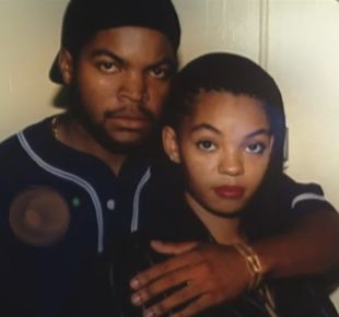 Ice Cube and Kimberly in 1992
