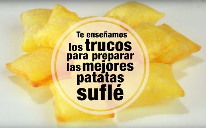 Los trucos para hacer patatas suflé de Joan Roca