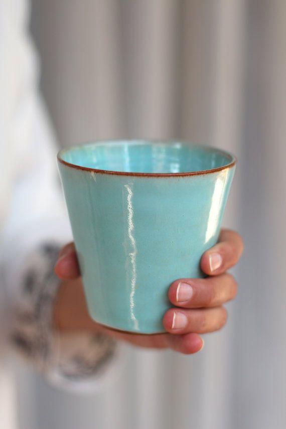 turquoise tumbler light blue tumbler water tumbler coffee