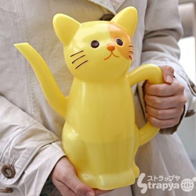 Cat Watering Can. I need this and I will buy plants to justify it.
