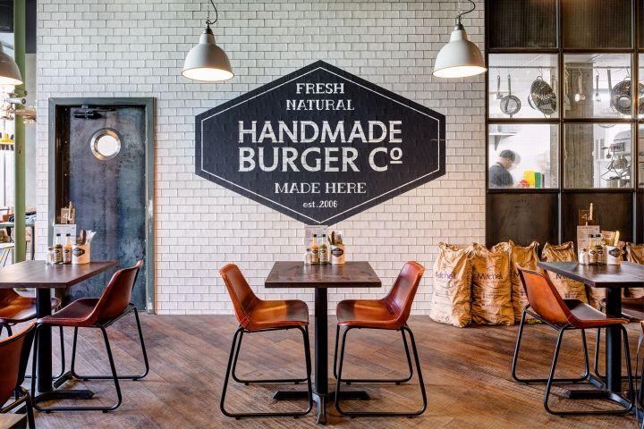 Handmade Burger Co by Brown Studio, Newcastle – UK