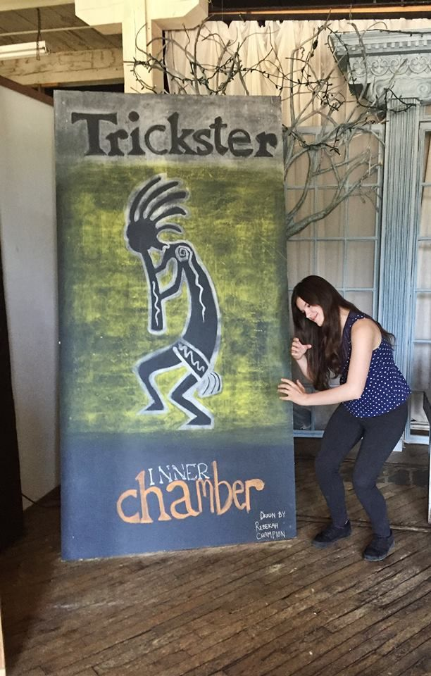 """Trickster"" Chalkboard by Bekkazaa at Factory163 #Factory163"