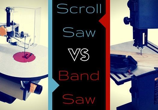 Why would I use a scroll saw vs band saw? What is the difference? What do they do? These are great questions. Find all the answers you need here!