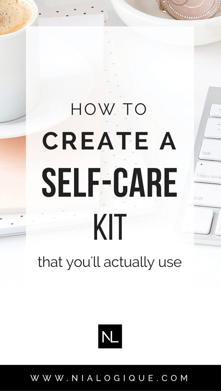 How To Create A Self-Care Kit | Having a self-care routine is vital to our mental, physical, and spiritual health. Thus it's important to be prepared and take some time every week to be intentional and reconnect with yourself. Click through to learn how! | self-improvement, self-love, personal development, entrepreneur overwhelm