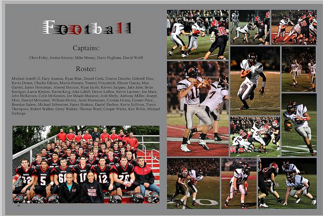 Football Yearbook Pages | Recent Photos The Commons Getty Collection Galleries World Map App ...